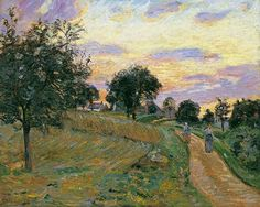 The Road of Damiette - Armand Guillaumin