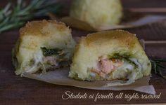 Facilissimi, in monoporzione.. Antipasto, Spanakopita, Polenta, Baked Potato, Sushi, Pesto, Buffet, Sandwiches, Good Food