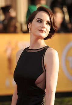Michelle Dockery looked so glamorous at the #SAGAwards
