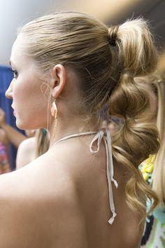 Charleston Fashion Week Hair