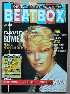 david bowie 1984 magazines - Google Search