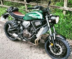 My new green mean machine. Xsr700
