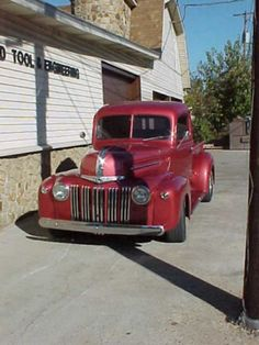Such a pretty 1945 Vintage Ford Truck