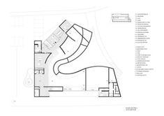 Image 32 of 38 from gallery of Mimesis Museum / Castanheira & Bastai Arquitectos Associados + Jun Sung Kim + Álvaro Siza Vieira. Architecture Drawings, Modern Architecture, Museum Plan, Co Housing, Book City, Korea, Cat Sketch, Graduation Project, Exhibition Space