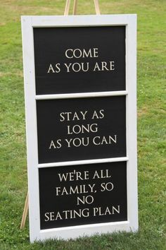 Pick A Seat Not A Side Sandy Beach Collection Personalised Printed Card Wedding Sign