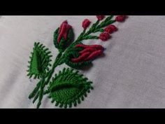Hand embroidery designs.Beautiful tiny design for dresses. Hand embroidery stitches tutorial. – Yoogbe ile Hayat Paylaşınca Güzel