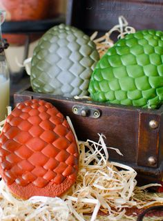 Game of Thrones Dragon Egg Cookies