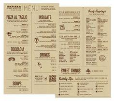 25 Inspiring Restaurant Menu Designs – DesignSwan.com