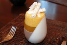 Coconut and Panna cotta Terrine
