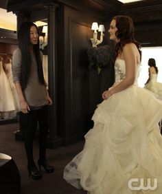 Leighton Meester y Vera Wang juntas, demasiado para mí! ♥♥♥