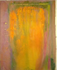 """Frank Bowling (b. Courteous Shade, 1974 Acrylic on canvas, 76 x 61 inches Signed, dated, and inscribed on verso: """"Courteous Shade"""" / Frank Bowling / Aug 1974 / N. Abstract Art Images, Flat Picture, Figure Painting, Painting Abstract, Painting Art, Caribbean Art, Funky Art, Paint Background, Colour Field"""