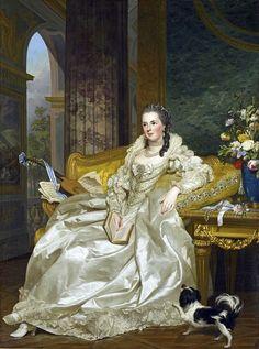 Comtesse d'Egmont Pignatelli in Spanish Costume, 1763 by Alexander Roslin