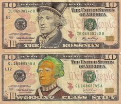 Willy Wonka Dollar Bill Art by JAMES CHARLES