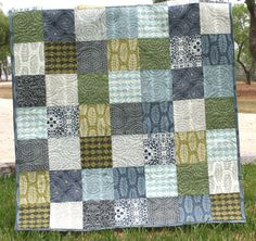 This quilt was made with Parson Gray by David Butler for Westminster Fabrics.
