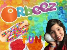 Stress ball with Orbeez!