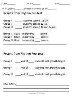 Year 2: Rhythmic ostinatos - The Arts: Music assessments ...