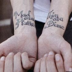 Ryan Ross' tattoos. Mad as a hatter, thin as a dime