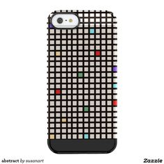 abstract funda clearly™ deflector para iPhone 5 de uncommon