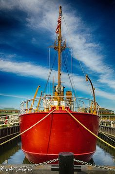 Lightship berthed in Lewes in Delaware, USA . Lewes Delaware, Delaware State, Mid Atlantic States, Small Sailboats, Sussex County, Rehoboth Beach, Hawaiian Islands, Anchors, Boating
