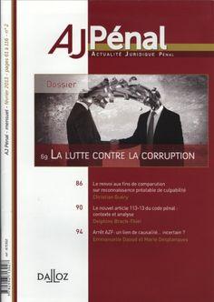 André JACQUEMET publie un article sur la corruption dans la revue du AJ PENAL (Dalloz) Corruption, Prévention, entreprise https://www.globalbpa.com/evenements/andre-jacquemet-publie-un-article-sur-la-corruption-dans-la-revue-du-aj-penal-dalloz