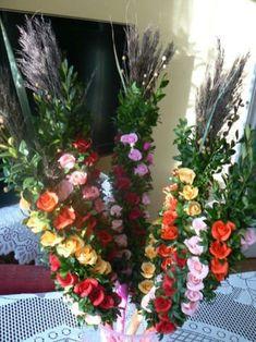 Easter, Christmas Ornaments, Diy, Folk, Instagram, Palmas, Flowers, Manualidades, Palm Sunday