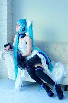 #hatsunemiku #vocaloid #cosplay #megurineluka