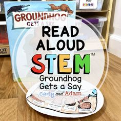 Groundhog Gets a Say STEM Activity for Kids by Carly and Adam