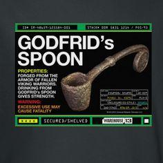 Warehouse 13 Godfrids Spoon T-Shirt