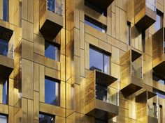 A brass facade! no words really | 10 Weymouth Street / Make Architects