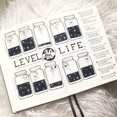 Level 10 of life, exemple for bullet journal