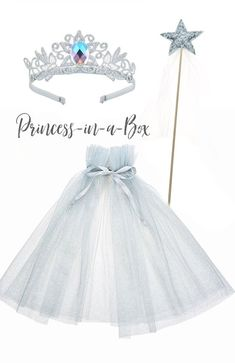 Princess Cape Set, Princess Wand, Princess Cape, Birthday Outfit, Princess Costume in Silver Princess Wands, Princess Dress Up, Princess Outfits, Princess Costumes, Cinderella Birthday, Princess Birthday, Princess Party, Disney Princess, Birthday Dresses