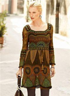 Перуанские платья- какая красота! + схемы. Комментарии : LiveInternet - Российский Сервис Онлайн-Дневников