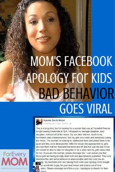 This mom's daughters were rude to a stranger at a movie theater and this amazing mom went to Facebook to try and find the stranger so she could make amends. The post went viral and she found the woman - amazing!