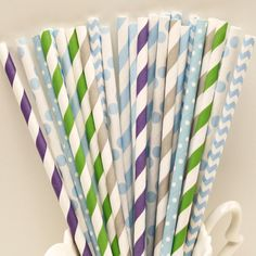 Disney FROZEN Party Paper Straws, Frozen Princess Party, Winter, Ice Skating, Frozen Birthday Party, on Etsy, $5.50