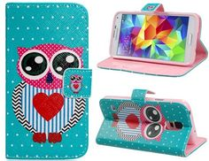 The Cute Owl Leather Flip Cover Case with Card Slots & Stand for Samsung Galaxy S5 gives you a different imagine: memories of childhood and colors of life. It has wallet functionality, so it is so convenient for you to put a bank card, IC card, coins, of course, you can put photos inside the card holder. All opening, buttons, connectors and speaker position are placed perfectly to give the PU leather case a sense of unity with your phone.