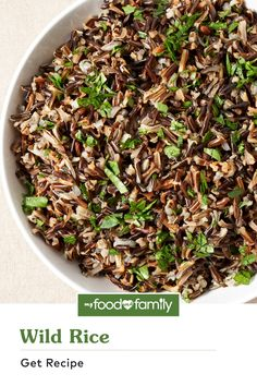Master the best base for any Healthy Living dish with this Wild Rice recipe! This flavorful fluffy base brings more taste to the table than your average salted rice will—it's cooked with WYLER'S Instant Bouillon Chicken Flavored Granules. For an even more savory flavor, substitute with WYLER'S Instant Bouillon Beef Flavored Granules.