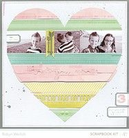 A Project by RobynRW from our Scrapbooking Gallery originally submitted 02/14/13 at 02:49 PM