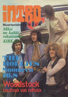 Intro music magazine (Finland), January 1970 (The Who)