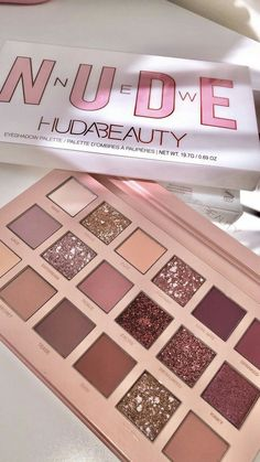 Huda beauty new nude palette Neue Nackt-Palette von Huda Beauty The post Neue Nackt-Palette von Huda Beauty & makeup products appeared first on Make . Huda Beauty Makeup, Beauty Make-up, Eyeshadow Makeup, Makeup Cosmetics, Makeup Geek, Huda Eyeshadow Palette, Huda Palette, Eyeliner, Simple Eyeshadow