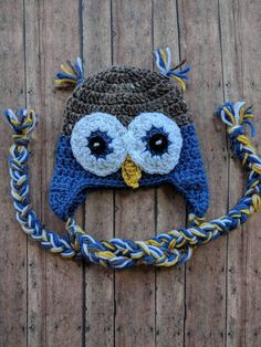 Hey, I found this really awesome Etsy listing at https://www.etsy.com/listing/167820439/owl-earflap-hat