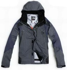Mens The North Face Triclimate 3 In 1 Jacket Grey Blue