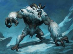 Yeti by Chris Dien on ArtStation