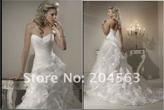 Free shipping best selling Wedding Dresses any size/color $129.00