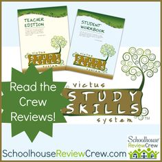 The Victus Study Skills System was created to help students of all ages learn how to study, learn and set goals. #hsreviews #homeschool #studyskills
