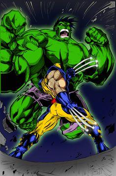 hulk in wolverine vs the hulk - Google Search