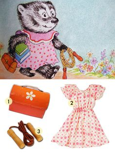 Babiekins Blog - Bread and Jam for Frances - Get Frances' dress, jump rope, and lunch box - Get the Look