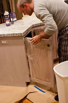 head above water: Painted countertops