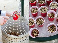 25 Delicious Nut Bar Ideas For Your Wedding - Wedding Philippines Wedding Menu, Wedding Favors, Wedding Reception, Reception Ideas, Wedding Ideas, Summer Wedding, Dream Wedding, Boiled Peanuts, Nut Bar