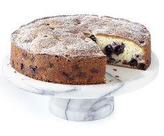 Blueberry-Muffin Cake - Recipe - FineCooking