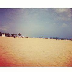 Playa de #Gandia, Nord.  http://www.josemanuelprieto.es